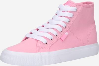 DC Shoes Augstie brīvā laika apavi 'MANUAL', krāsa - rozā, Preces skats