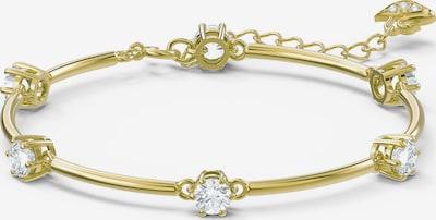 Swarovski Armband in gold / weiß, Produktansicht