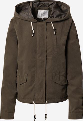 ONLY Between-season jacket 'New Skylar Spring' in Green