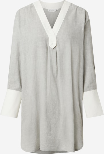 Masai Blúzka 'Genetta' - sivá melírovaná / biela, Produkt