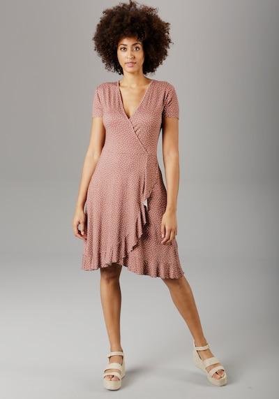 Aniston SELECTED Sommerkleid in braun, Modelansicht