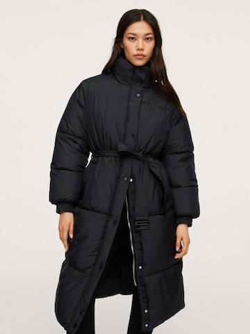 MANGOZimski kaput 'Coulant' - crna boja