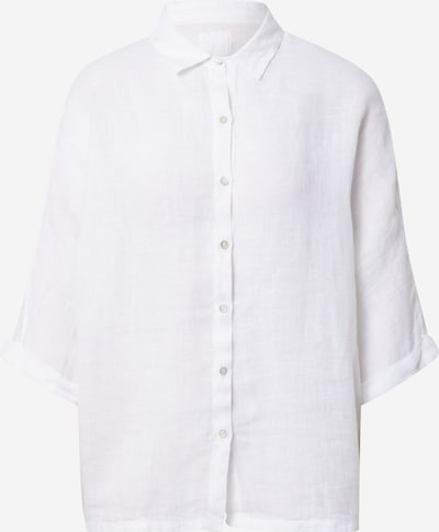 120% Lino Chemisier en blanc, Vue avec produit