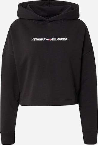 Tommy Sport Athletic Sweatshirt in Black