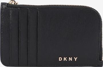 DKNY Kreditkartenetui in Schwarz