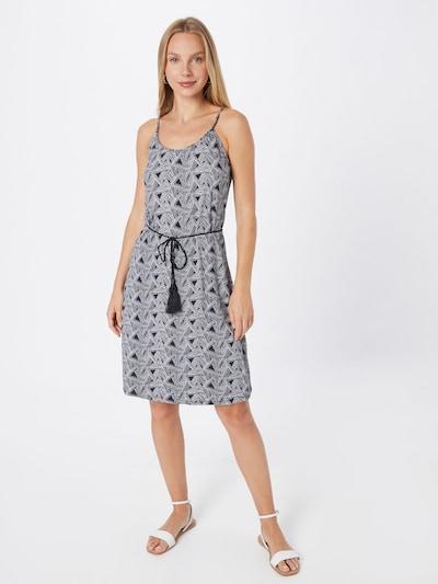 ZABAIONE Kleid 'Lacey' in navy / weiß, Modelansicht
