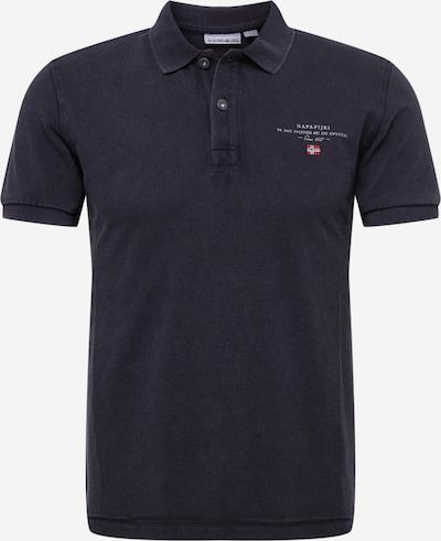 NAPAPIJRI Tričko 'ELBAS' - námornícka modrá / melónová / čierna / biela, Produkt