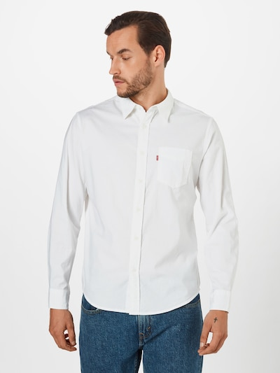 LEVI'S Hemd in weiß, Modelansicht