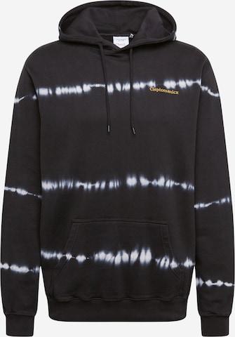 Cleptomanicx Sweatshirt 'Dandada' in Schwarz