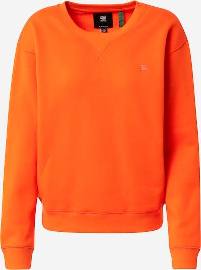 G-Star RAW Sweatshirt in orange, Produktansicht