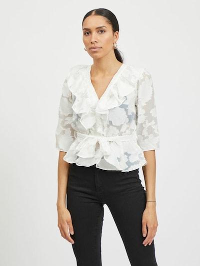 VILA Bluza u bijela, Prikaz modela