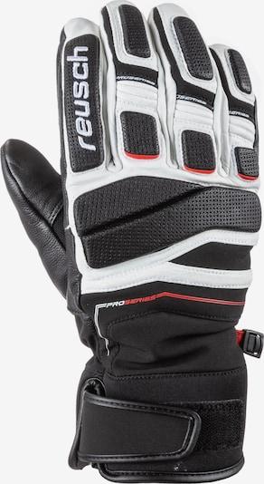 REUSCH Sporthandschuhe 'Profi SL' in schwarz / weiß, Produktansicht