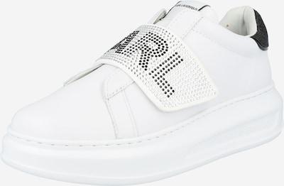 Karl Lagerfeld Zemie brīvā laika apavi 'KAPRI' melns / balts, Preces skats