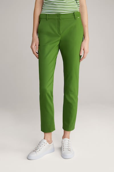 JOOP! Hose in grasgrün, Modelansicht