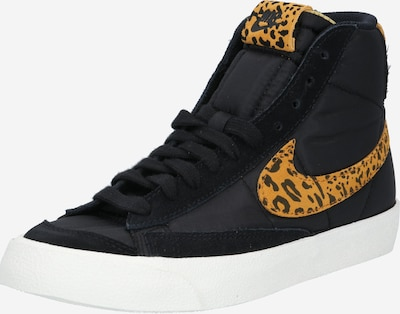 Nike Sportswear Baskets hautes en cognac / noir, Vue avec produit