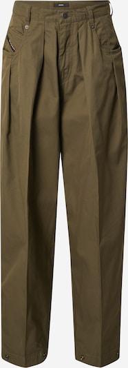 Pantaloni con pieghe 'P-JO-A' DIESEL di colore cachi, Visualizzazione prodotti
