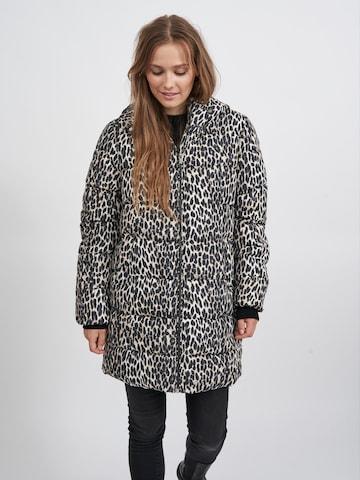 VILA Winter Coat 'Karla' in Beige