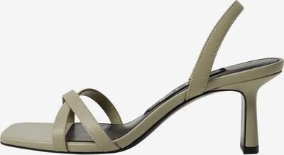 MANGO Sandale in khaki, Produktansicht