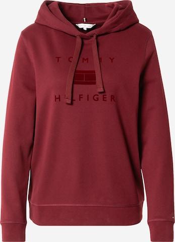 TOMMY HILFIGER Sweatshirt in Red
