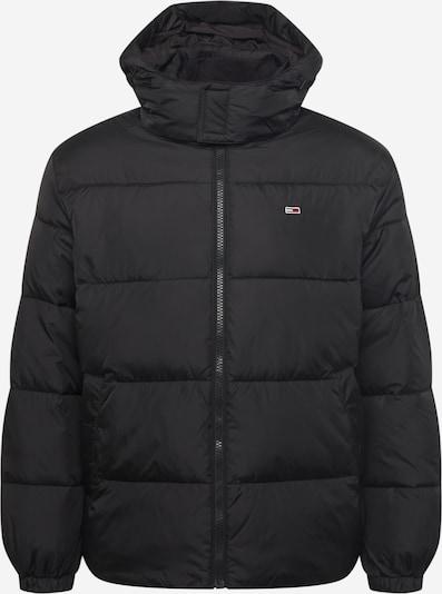 Tommy Jeans Overgangsjakke i navy / brandrød / sort / hvid, Produktvisning