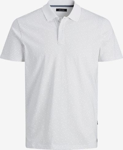 JACK & JONES Poloshirt 'Atlanta' in grau / orange / weiß, Produktansicht