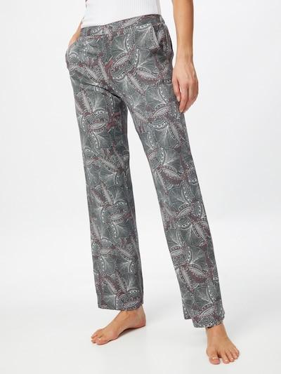 ETAM Pyjamahousut 'IDRIS' värissä khaki / oliivi / melooni: Näkymä edestä