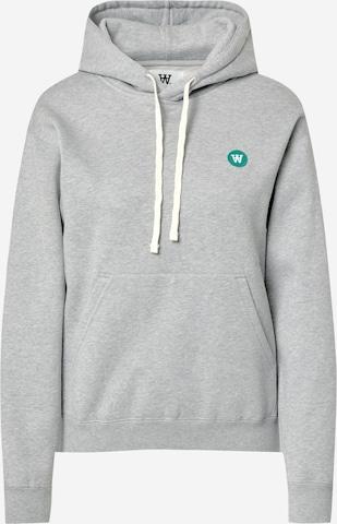 WOOD WOOD Sweatshirt 'JENN' in Grey