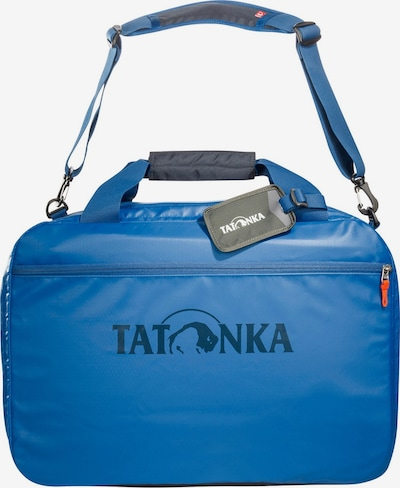TATONKA Reisetasche 'Flight Barrel' in blau / nachtblau / grau, Produktansicht