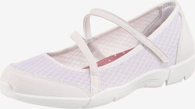 SKECHERS Ballet Flats with Strap 'Be-lux Airy Winds' in White, Item view