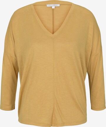 TOM TAILOR DENIM Shirt in Yellow