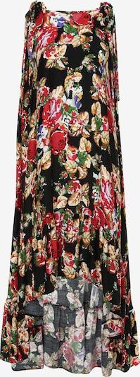 Madam-T Kleid 'Percama' in mischfarben / schwarz, Produktansicht