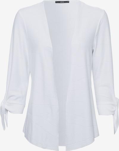 zero Sweatjacke in weiß, Produktansicht