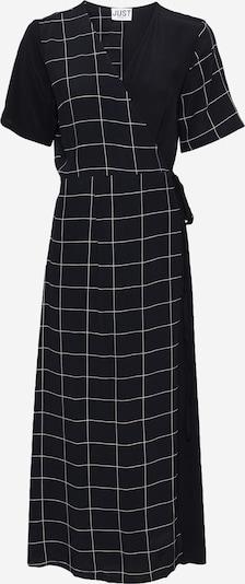 JUST FEMALE Jurk 'Halle' in de kleur Zwart / Wit, Productweergave