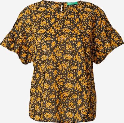 UNITED COLORS OF BENETTON Pusero värissä keltainen / musta, Tuotenäkymä