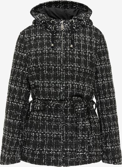 DreiMaster Vintage Winter Jacket in Black / White, Item view