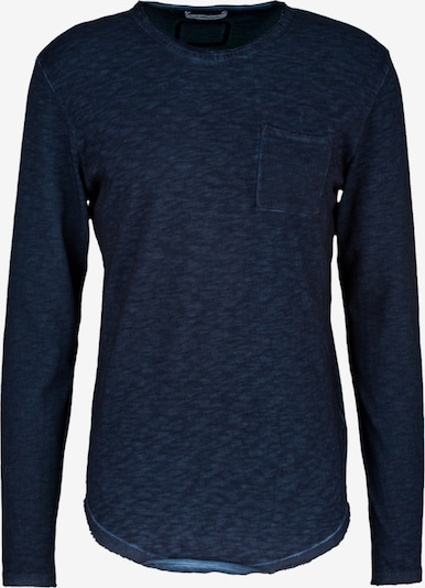 Young Poets Society Longsleeve  ' Chibs P. ' in blau, Produktansicht