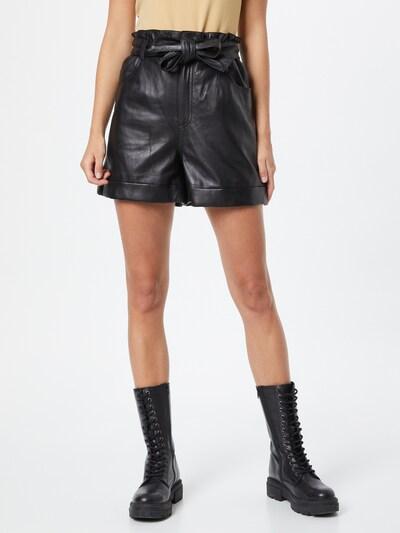 Pantaloni 'JENNY' OAKWOOD pe negru, Vizualizare model