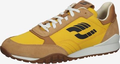 CLARKS Baskets basses en marron / jaune / or / noir, Vue avec produit