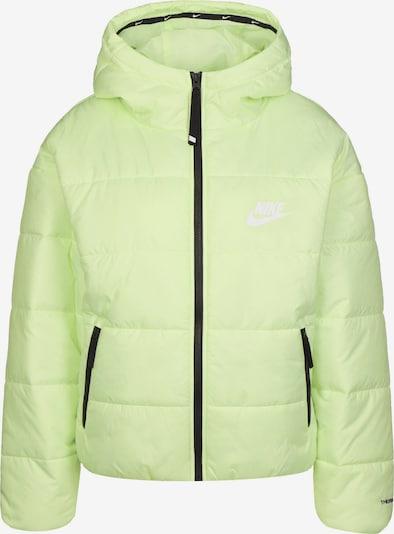 NIKE Jacke in pastellgrün, Produktansicht