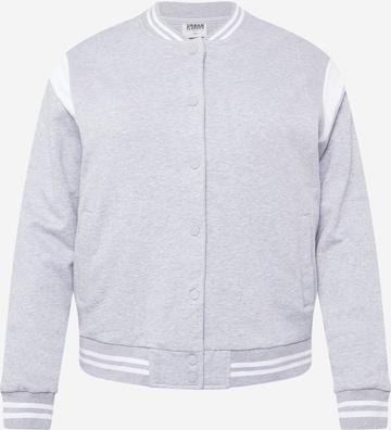 Urban Classics Between-Season Jacket in Grey