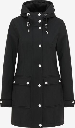 DreiMaster Maritim Parka in schwarz, Produktansicht