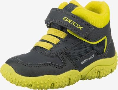 GEOX Kids Winterboots 'Baltic' in nachtblau / gelb, Produktansicht