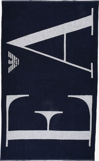 Emporio Armani Beach towel in Navy / White, Item view