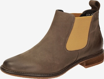 SIOUX Chelsea Boots 'Holmeira' in Grau