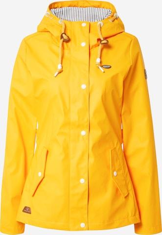 Ragwear Jacke 'Marge' in Yellow