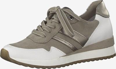 Sneaker low MARCO TOZZI pe kaki / alb, Vizualizare produs
