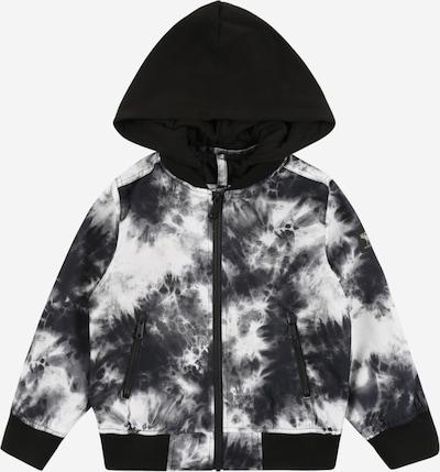 Abercrombie & Fitch Chaqueta de entretiempo en negro / blanco, Vista del producto