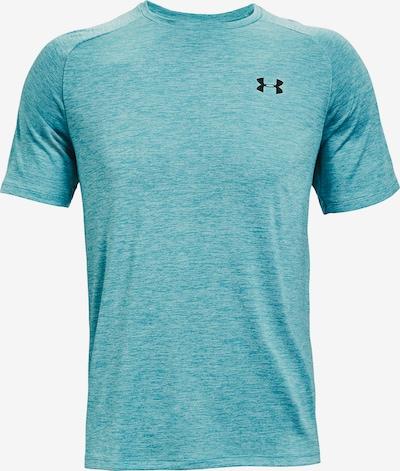 UNDER ARMOUR Functioneel shirt in de kleur Blauw / Zwart: Vooraanzicht