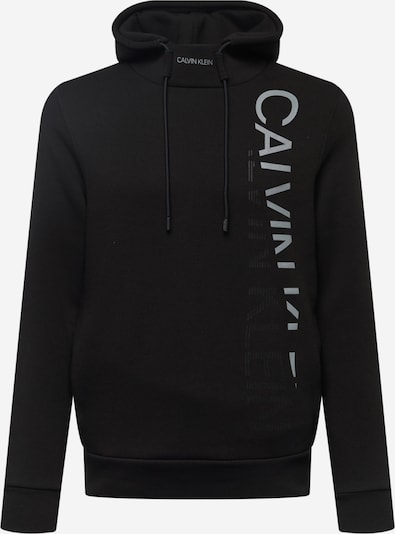 Calvin Klein Μπλούζα φούτερ σε γκρι / μαύρο, Άποψη προϊόντος