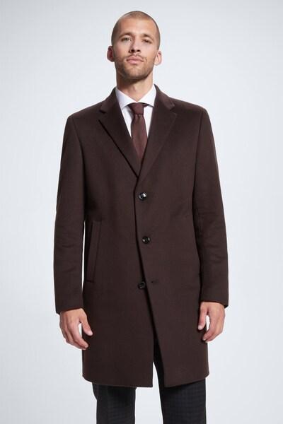 STRELLSON Mantel in dunkelbraun, Modelansicht